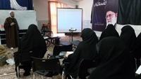 اولین کارگاه نشریه نگاری مدرسه علمیه حضرت آمنه سلام الله علیها