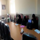 اولین نشست مدیران ومعاونان پژوهش مدارس علمیه خواهران استان فارس با رویکرد پژوهشی