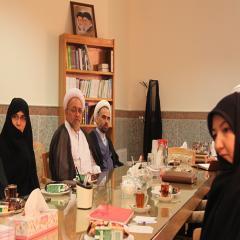 نشست اداره کل امور نخبگان با دکتر ابو راس