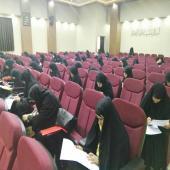 مرحله استانی دوازدهمین جشنواره قرآن و عترت حوزه علمیه خواهران استان فارس