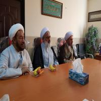 بازدید نماینده ولی فقیه در استان و امام جمعه شیراز از حوزه علمیه خواهران استان فارس