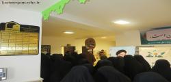 نمایشگاه کتاب و دستاوردهای طلاب - با حضور مسئولان - بهمن 95
