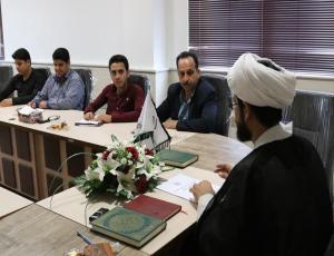نشست خبری به مناسبت افتتاح دفتر بنیاد عفاف و حجاب استان بوشهر