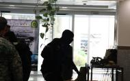 مراسم گرامیداشت هفته نیروی انتظامی در مرکز مدیریت حوزه های علمیه خواهران