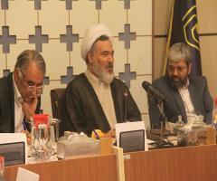 دیدار حجت الاسلام و المسلمین بهجت پور با جامعه خیرین