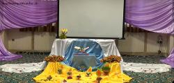 مراسم جشن میلاد حضرت زهرا - 24 اسفندماه 95