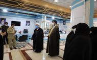 بازدید مدیر حوزههای علمیه خواهران از نمایشگاه مسئلهمحوری و دستاوردهای 10 ساله دفتر تبلیغات اسلامی