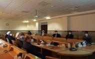 نشست کمیته پدافند غیرعامل مرکز مدیریت حوزههای علمیه خواهران