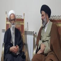 جلسه معاون امور حوزه ها با آیت الله بنابی