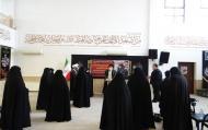 تجلیل از بانوان طلبه گلستانی فعال در دفاع مقدس
