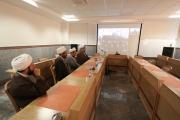سخنرانی ویدئوکنفرانس مدیر حوزههای علمیه خواهران با طلاب خواهر عسلویه