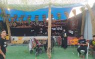 فعالیت موکب مردمی بانوان فاطمی در مسیر نجف تا کربلا عمود ۲۸۶