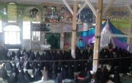 مراسم معنوی اعتکاف با حضور مبلغین مدارس علمیه خواهران استان فارس