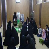 برگزاری مراسم ترتیل خوانی قرآن کریم در مدارس علمیه خواهران استان فارس