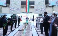 برگزاری مراسم خطبه خوانی در مرکز مدیریت حوزههای علمیه خواهران