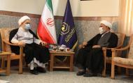 دیدار دبیرکل مجمع تقریب مذاهب اسلامی با مدیر حوزههای علمیه خواهران