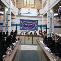 جلسه علماء وروسای عالی رتبه استان با حجه الاسلام بهجت پور