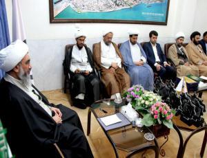 مراسم تقدیر از اعضای دبیرخانه کنگره علامه بلادی بوشهری