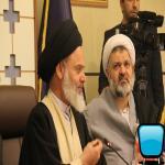 نشست آیت الله حسینی بوشهری با معاونت پژوهش