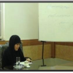 گیلان  دفاعیه 3نفراز طلاب حوزه فاطمیه س
