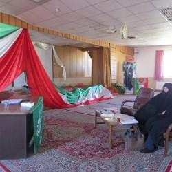 جلسه دفاعیه تحقیق پایانی سطح دو  در مدرسه علمیه خواهران الزهرا س یزد