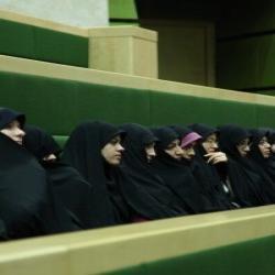 سمنان بازدید طلاب از مجلس شورای اسلامی مدرسه علمیه فاطمیه دامغان