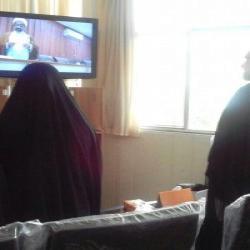 مازندران جلسه دفاعیه پایان نامه در مرکز تخصصی زینب کبری س تنکابن