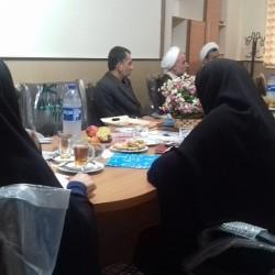 گیلان    برگزاری جلسه شورای علمی پژوهشی   مرکز مدیریت حوزه های علمیه خواهران