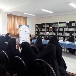 خبر مدارس - جلسه دفاعیه تحقیق پایانی 4 نفر از طلاب مدرسه علمیه نرجسیه سنقر