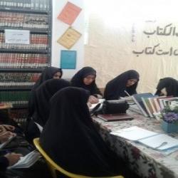 فارس شروع دوره آموزش منبع شناسی   در مدرسه الزهرا س  آباده طشك