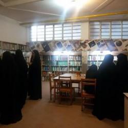 کردستان - بازدید کتابخانه