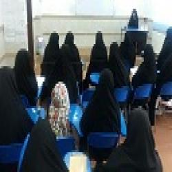 لرستان برگزاری کارگاه پژوهشی و برگزاری نمایشگاه آثار پژوهشی اساتید و طلاب در مدرسه بنت الرسول الشتر
