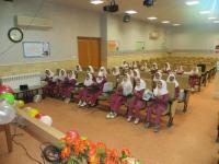 مراسم جشن تکلیف دبستان دخترانه نواب رضوی اردکان برگزار شد