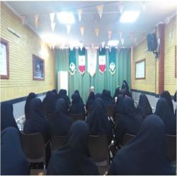 سمنان دیدار با امام جمعه محترم شهرستان شاهرود به مناسبت هفته معلم