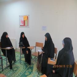 گلستان- میزگرد پژوهشی انجمن های فقه، کلام ، تفسیر و علوم قرآنی