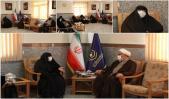 دیدار رئیس سازمان نشر آثار و ارزشهای مشارکت زنان در دفاع مقدس با مدیر حوزههای علمیه خواهران